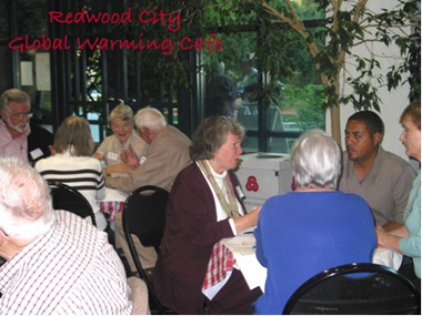 Redwood City Climate Change Cafe